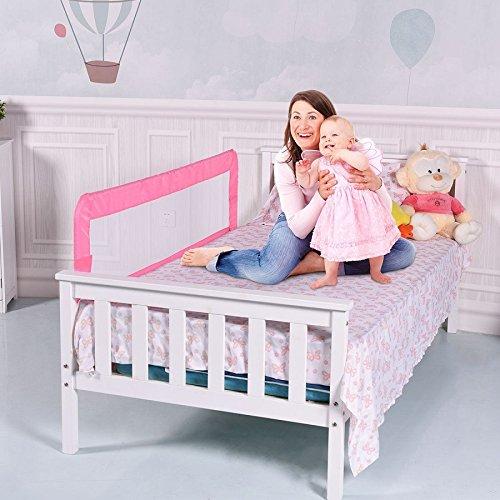 Toddler Bed Rail-Pink SBP-286