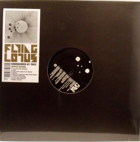 Flying Lotus: Cosmogramma Alt Takes (Record Store Day) 12'' by Warp