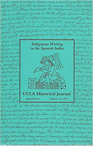 Indigenous Writing in the Spanish Indies: Matthew Restall ...