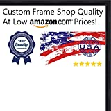 39 frame - 13x39 Contemporary Black Wood Picture Panoramic Frame - UV Acrylic, Foam Board Backing, & Hanging Hardware Included!
