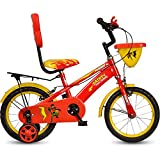 Hero Dainty 14T Single Speed Junior Cycle - Red & Yellow