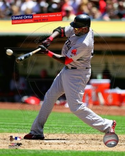 David Ortiz hits his 400th career home run on Saturday July 4 2012 - Home Hit Photo Run