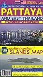 Chonburi-Rayong-Pattaya: Pattaya, Bang Saen, Si Racha, Laem Chabang /Provinz & City Streetmap