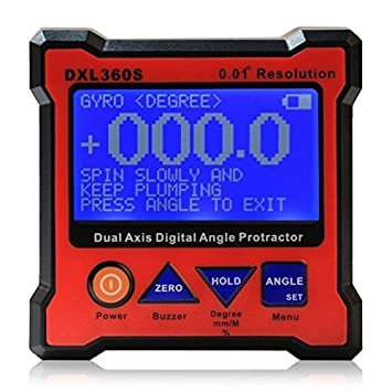DXL360S Digital de tocadiscos inclinometer Level Box 0.01 ...