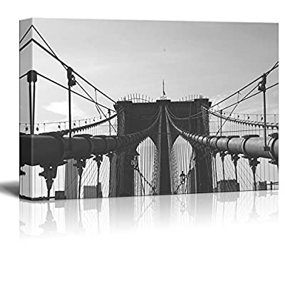 Made to Last, Incredible Piece of Art, Brooklyn Bridge in Black and White
