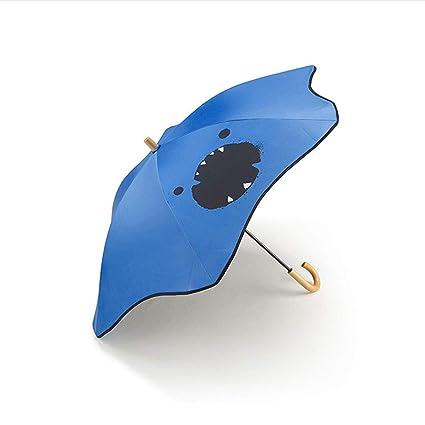 Bubble Niños Paraguas Mango Recto Parasol Sombrilla Paraguas Paraguas De Sol Y Lluvia