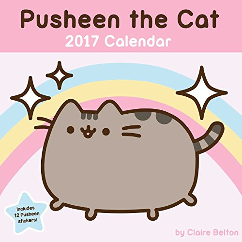 Pusheen the Cat 2017 Wall Calendar 515zkeXHKUL