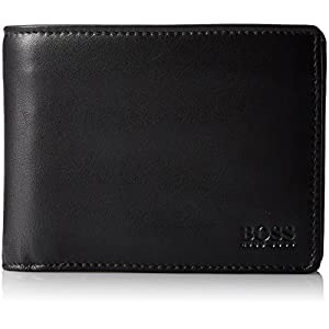 BOSS Arezzo, Men's Wallet, Black (Schwarz), 12 cm