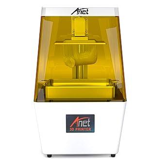 Anet - Impresora 3D LCD UV N4, 40 um de alta precisión, estructura ...