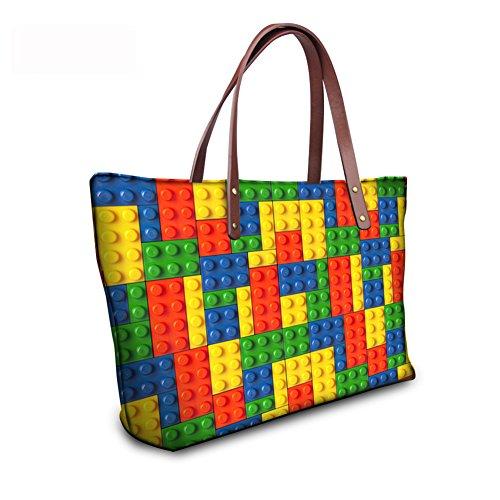 C8wc3911al Wallets FancyPrint Handbags Top Satchel Bags Women Handle Large Purse Foldable qnfSUa