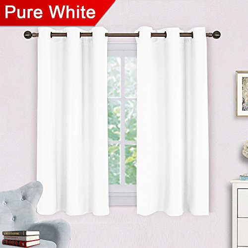 NICETOWN Room Darkening Draperies Curtains Panels, Window Tr