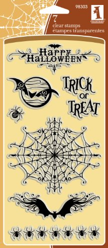 Inkadinkado Creepy Crawly Halloween Clear Stamps -