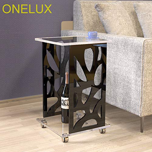 Magazine Craftworks - ONELUX Engraved Acrylic Occasional/Sofa /Side/Tea /Magazine Tables