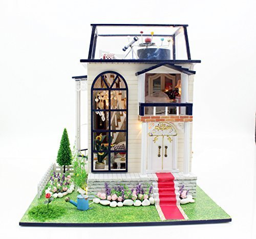 暮らし を シミュレーション できる ミニチュア ドール ハウス 組立 キット 家族 大人 の 工作