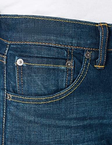 Uomo Levi's Boot Slim 0476 Blu explorer Jeans Cut 527 5rwraqEX
