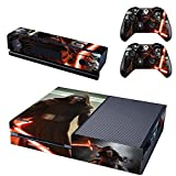 Vanknight Vinyl Decal Skin Stickers Cover Kylo Ren for Xbox One Console Kinect 2 Controllers Star Wars