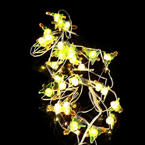 36' Two Lamp (Yuxing DIY 3M 30 Snow Man LED Fairy String Lights Christmas Lights for Window Curtain Outdoor Indoor Patio Party Home Decor (B))