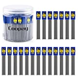 Coopay 600 Pieces Lead Refills 0.7 mm HB Break Resistant Mechanical Pencil Refills, 12 Pack Per Tube, 50 Tubes(0.7 mm)