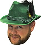 Morris Costumes Men's Octoberfest Hat Green, One Size
