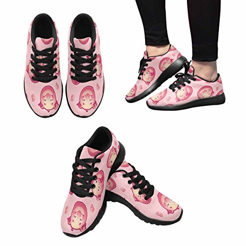 InterestPrint Womens Jogging Running Sneaker Lightweight Go Easy Walking Comfort Sports Running Shoes Multi 6 4lcZc