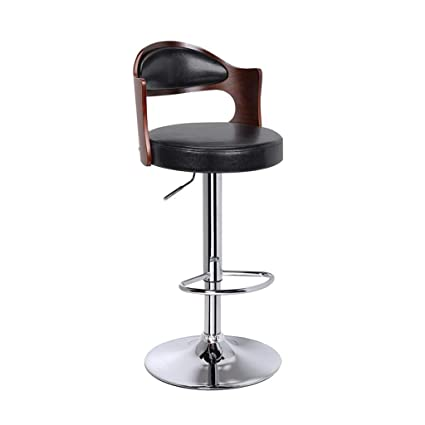 Nice Bar Stools Bar Chair Rotating Lift Backrest Chair High Stools Home Creative Beauty Round Stool Stylish Minimalist Swivel Chair Furniture Bar Chairs