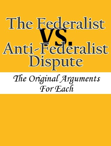 Amazoncom The Federalist Vs Antifederalist Dispute The Original  The Federalist Vs Antifederalist Dispute The Original Arguments For Each  By  Writing Service Level Agreements also Argumentative Essay Topics For High School  Essay On Health