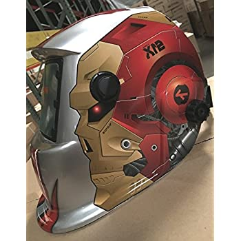 USA seller AEW Auto Darkening Solar Powered Welders Welding Helmet Mask With Grinding Function-will be shipped from California by PROLINE