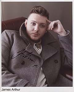 James Arthur (cantante) firmado 8x 10fotos + certificado de authentication100% auténtica
