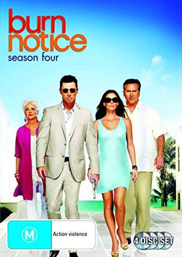 Burn Notice Season 4 | 4 Discs | NON-USA Format | PAL | Region 4 Import - Australia -  DVD