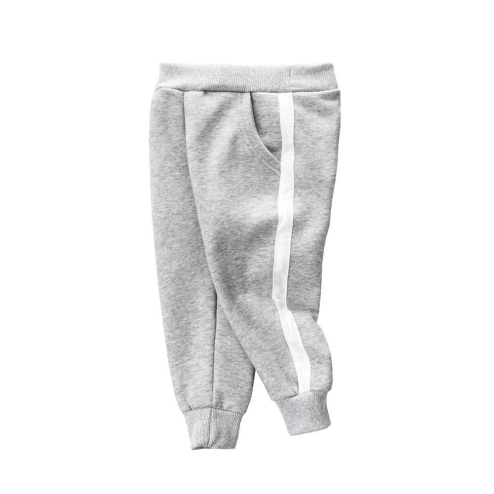 ALLAIBB Niños pequeños Pantalón de chándal Deportivo Pantalones ...