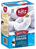 Katz Gluten Free Powdered Donuts, 10.5 Ounce, Certified Gluten Free - Kosher - Dairy Free, Nut Free & Soy free - (Pack of 1)