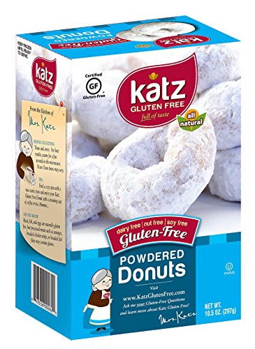 Katz Gluten Free Powdered Donuts - 10.5 oz Certified Gluten-Free Kosher Donut Pack [6 Per - Honey Bread Wheat Recipe