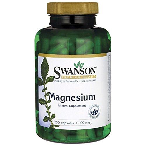 Swanson Magnesium 200 250 Caps