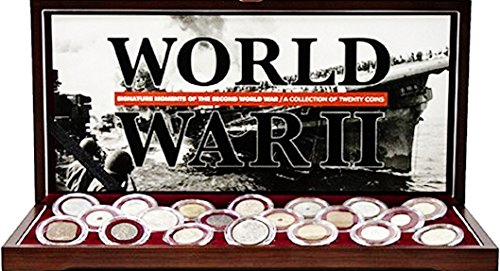 1945 Signature Moments of the Second World War: A collection of 20 coins & In Presentation Box ,Story And Certificate. Very Good ()