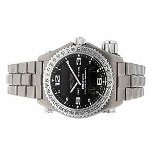 Breitling Emergency quartz mens Watch E7632110/B576 (Certified Pre-owned)