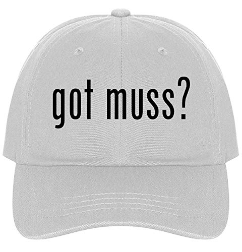 Botanika Collection - The Town Butler got muss? - A Nice Comfortable Adjustable Dad Hat Cap, White