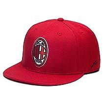 AC Milan Fi Collection Pinstripe Snapback Hat