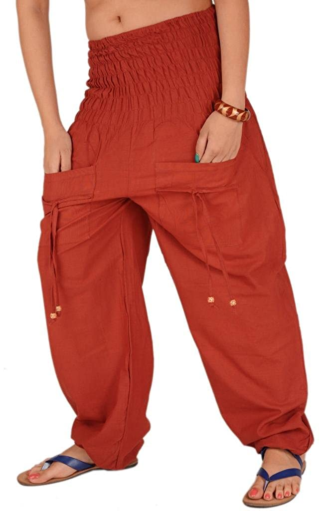 Skirts /& Scarves Womens Cotton Lounge//Yoga Pants With Pockets For Girls and Women PA-283