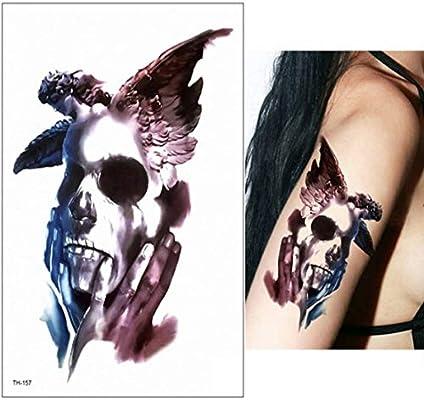 Patrón de reloj griego 3ps-Dark evil big eyes para tatuaje de ...