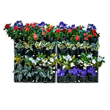 Expandable Green Wall w/Built-in Micro dripper 4 Panels, Total of 32 pots, US Patented