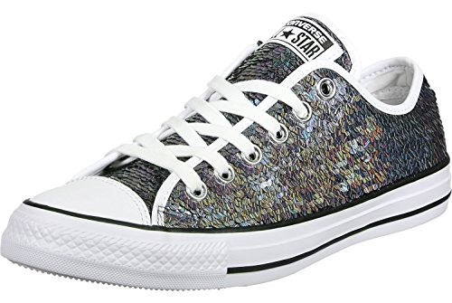 Converse All Star Ox Donna Sneaker Metallico