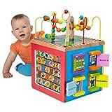ALEX Toys - ALEX Jr. My Busy Town - Baby Wooden Developmental Toy  4W