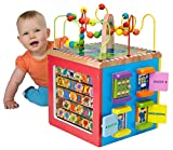 Baby : ALEX Jr. My Busy Town Wooden Activity Cube