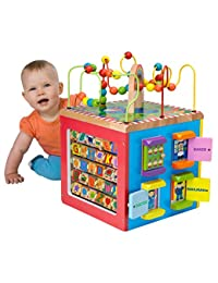ALEX Jr. My Busy Town Wooden Activity Cube BOBEBE Online Baby Store From New York to Miami and Los Angeles