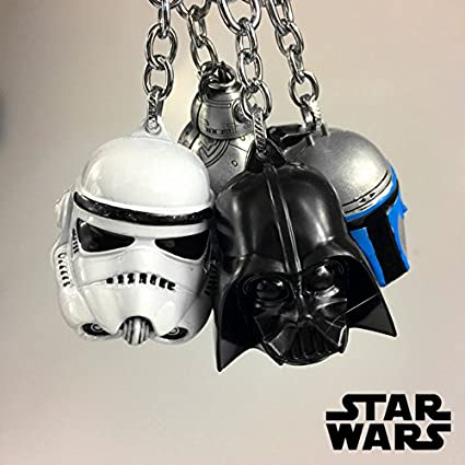 Game, Fun, Starwars Darth Vader Anakin Skywalker Key Keychain Stormtrooper Keyrings Keychain Mini figure