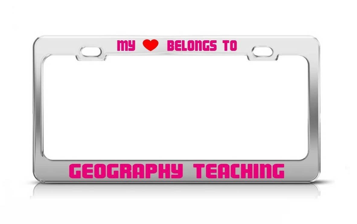 Amazon com: Strawbaru MY HEART BELONGS TO GEOGRAPHY TEACHING