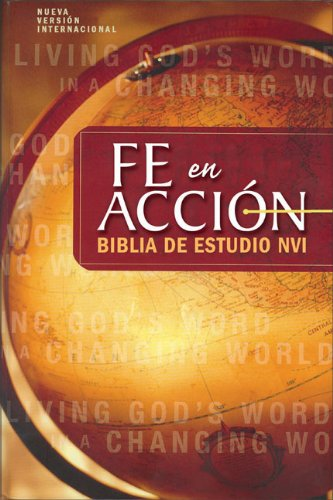 NVI Biblia Fe en acción, tapa dura (Spanish