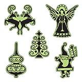 Inkadinkado Stamping Gear Cling Stamps, Fun Icons