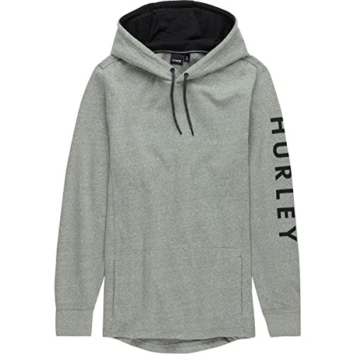 Hurley Mens Sweatshirt (Hurley Bayside One & Only Fleece Pullover Hoodie - Mens Dark Stucco, M)