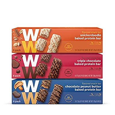 Weight Watchers Baked Protein Bar Three Value Pack New WW